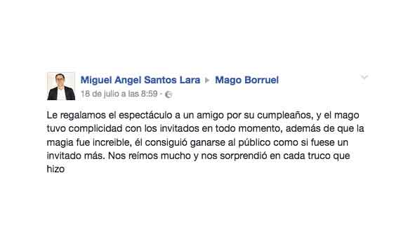 opinion mago borruel