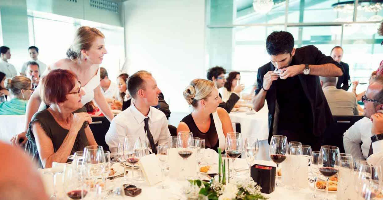 contratar mago para boda en Barcelona, Madrid y Valencia